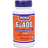 Now Vitamin E-400 IU MT 100 Softgels