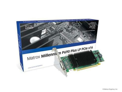 Matrox Electronic Systems MP690 LP PCIe x16 Graphic Card