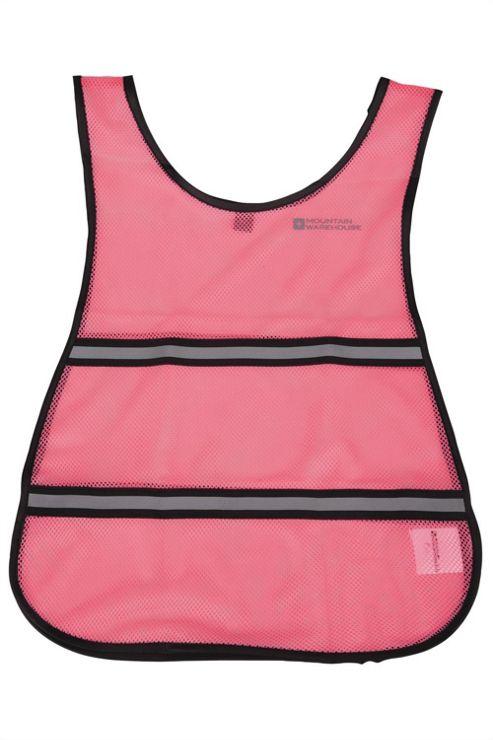 Kids Adrenaline Iso-Viz Top Reflective Flourescent Cycling Running Mini Vest