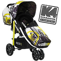 Koochi Pushmatic Stroller (Brooklyn AM)