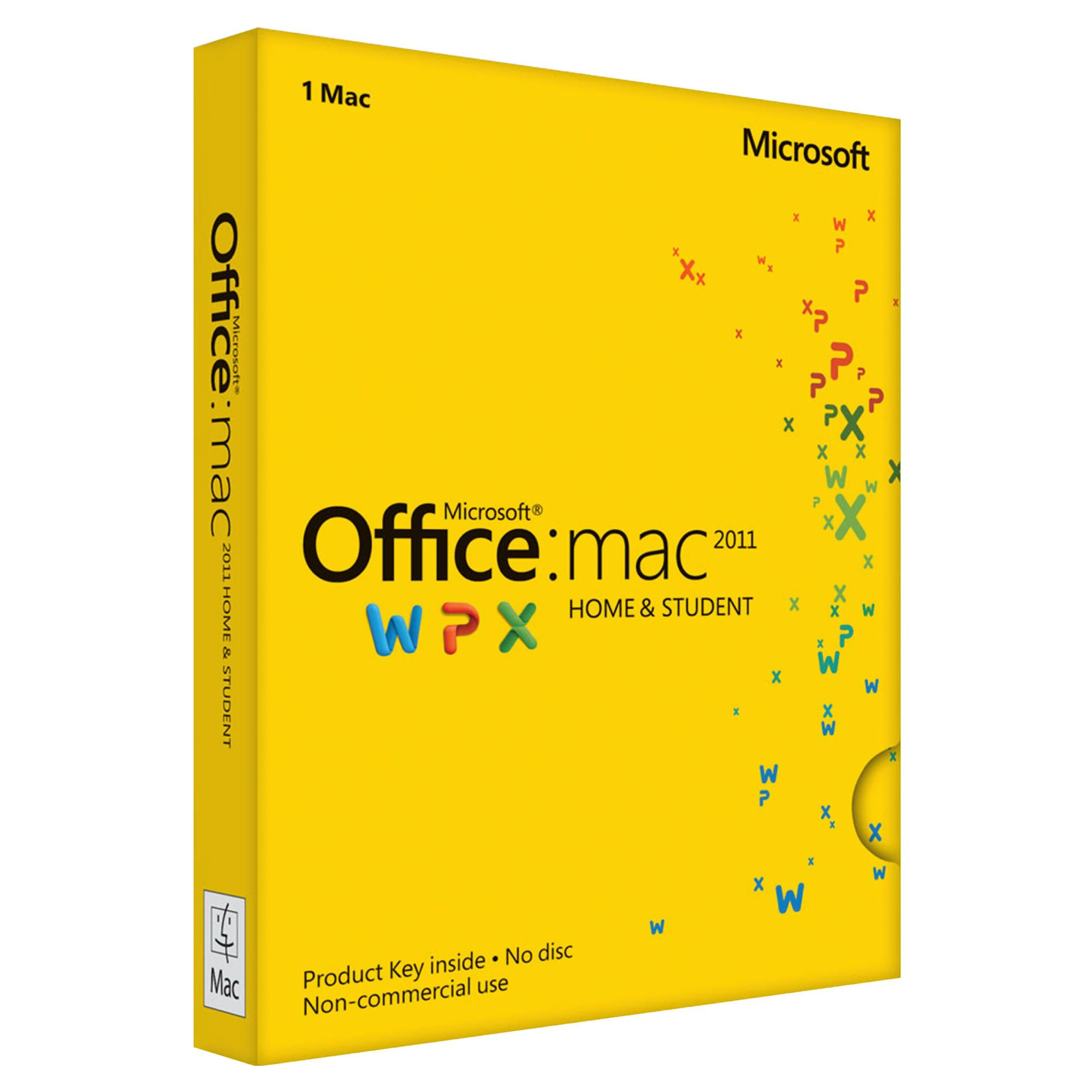 Offerta: Microsoft Office Home e Student 2011 for Mac