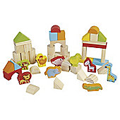 Carousel Wooden Building Blocks