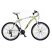 "18"" Whistle Miwok 1385V Mens' Bike, White/Green"