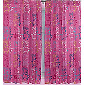 Peppa Rocks - Peppa Pig Curtains in Pink, Blue, Yellow 54 inch drop