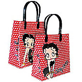 Small Betty Boop Polka Dot Gift Bag