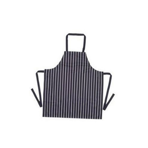 Rushbrookes Blue Butchers Stripe PVC Adults Apron
