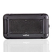 Veho 360° Vecto Wireless Water Resistant Speaker with built in 6000mAh Powerbank in Black