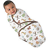Summer Infant Large SwaddleMe Cotton (Jungle Print)