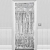 Silver Metallic Door Curtain - 2.4m