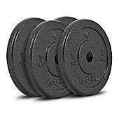 Bodymax Standard Hammertone Weight Plates - 4 x 5kg