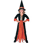 Rubie's Fancy Dress Costume - Halloween Concepts Gothic Witch - CHILD UK LARGE