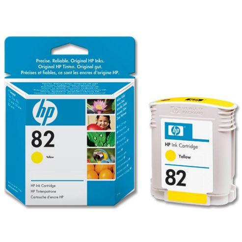 HP 82 Ink Cartridge -Yellow