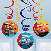 Cars Hanging Swirls - 61cm (6pk)
