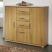 Posseik Meltona 3 Drawer Multi Purpose Chest - Heartwood Beech Imitation