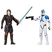 Star Wars Mission Series - Anakin Skywalker and 501st Legion Trooper Figures