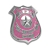 Pinkie Police Badge