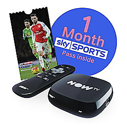 NOW TV HD Digital Media Streamer with Sky Sports 1 Month Pass