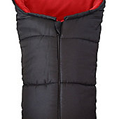 Deluxe Footmuff To Fit Mountain Buggy Duet One Swift Nano - Red