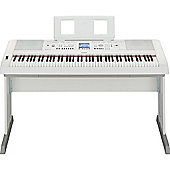 Yamaha DGX650 Keyboard in White