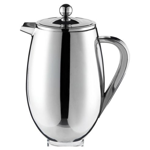 leXpress 8 Cup Coffee Cafetiere - single wall