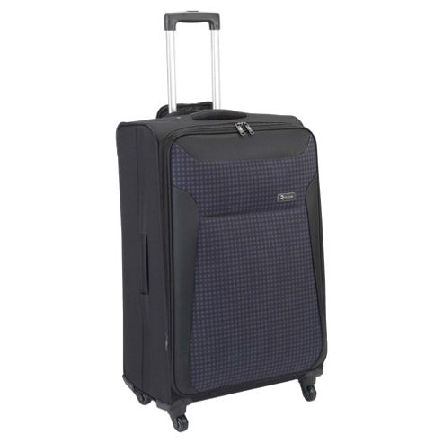 Revelation by Antler Nexus 4-Wheel Suitcase, Black Check Large