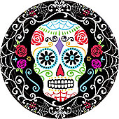 Day of the Dead Dinner Plates - 25cm