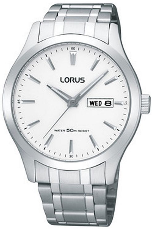 Lorus Gents Sports Bracelet Watch RXN39CX9