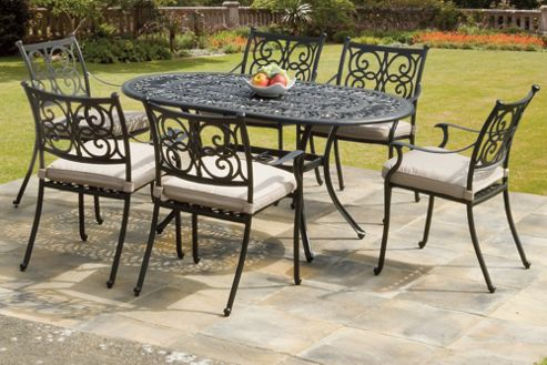 Buy Suntime Guildford 7 Piece Dining Set From Our Garden Furniture Sets Range