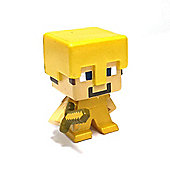 Highly Collectable Minecraft Mini Figure - Steve with Gold Armour