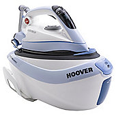Hoover SFD4102/2 Easy Glide Ceramic Plate Steam Generator Iron - Blue & White