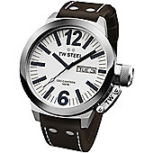 TW Steel CEO Canteen Unisex Leather Day & Date Watch CE1005