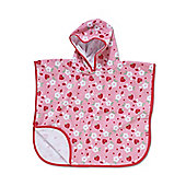 Mothercare Soft Poncho- Strawberries