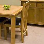 G&P Furniture Oak Slatted Back Dining Chair (Set of 2)
