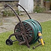 Cast-iron hose trolley