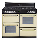 Belling Classic 100DFT Range Cooker (with 7 gas hob burners) in Cream