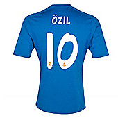 2013-14 Real Madrid Away Shirt (Ozil 10) - Blue