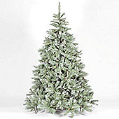 4ft Frosted Emerald Fir Blue/Green Artificial Christmas Tree