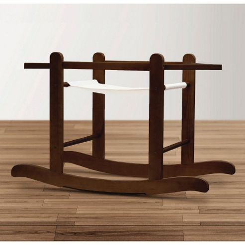 Kinder Valley Rocking Moses Basket Stand (Walnut)
