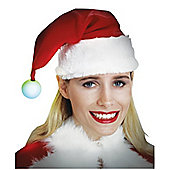 Rubies Fancy Dress - Light-Up Santa Hat