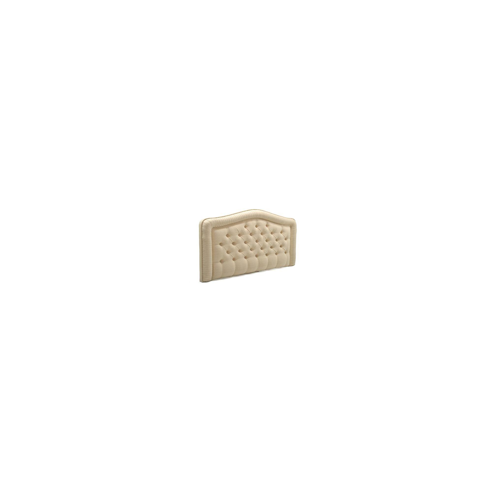 PC Upholstery Helsinki Headboard - Ecru - 3' Single at Tesco Direct