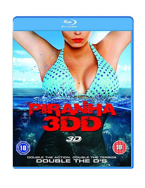 Piranha 3Dd (3D Blu-Ray)