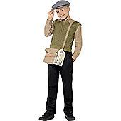 Smiffy's - Evacuee Boy Kit - Child Costume 10-12 years