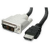 StarTech 6 ft HDMI to DVI-D Cable - M/M