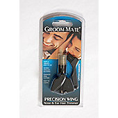 Groom Mate Silver Wing Ear and Nose Trimmer