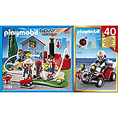 Playmobil - Fire 40th Anniversary Compact Set 5169