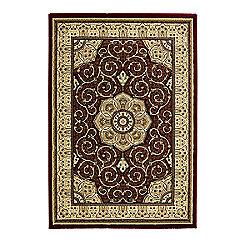 Oriental Carpets & Rugs Heritage 4400 Red Rug - 160cm x 230cm