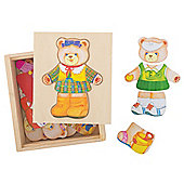 Bigjigs Toys BJ764 Wooden Dress Up Mrs Bear
