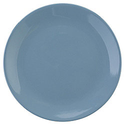 Tesco Basics Dinner Plate, Storm Blue