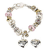 Mum Love You Lots Charm Bracelet