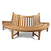 Bracken Style Half Tree Bench